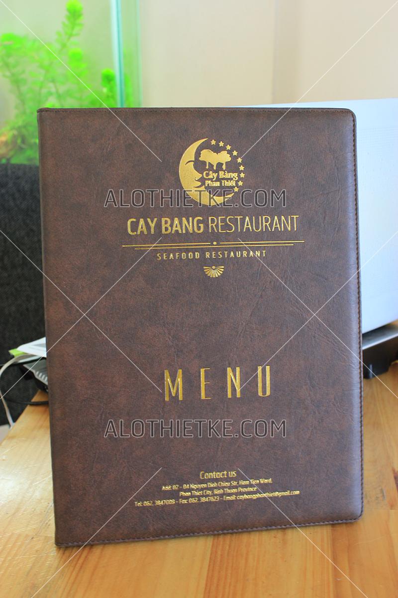 In menu da tại Phan Thiết