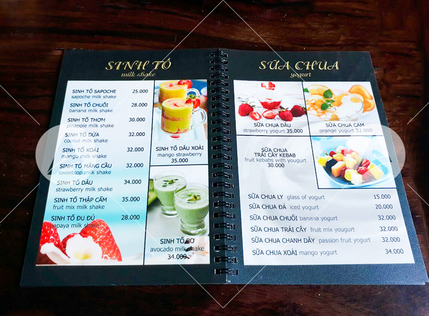 thiet ke menu nha hang tai TP HCM